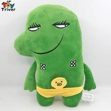 30cm Kawaii Plush Little Green Monster Toy Stuffed Dinosaur Doll Baby Kids Children Sleeping Toys Birthday Gift Home Decor цена в Москве и Питере