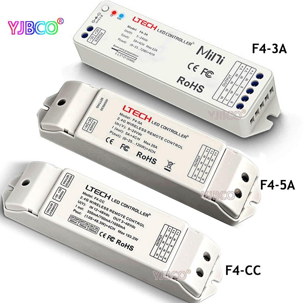 dc12-48v dc5-24v Kompatibel Mit Ex Serie Dimmer Für Led Streifen Lampe F4-cc Wireless Empfänger F4-5a/f4-3a Empfänger