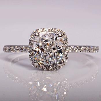 Zircon Stone 925 Sterling Silver Ring