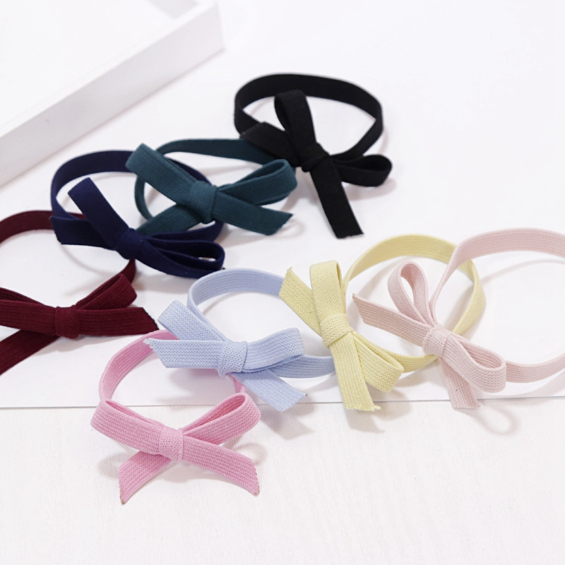 New Arrival Wholesale High Quality Cheap Women's Hair Accessories Girls Elastic Hair Bands Bowtie Hair Tie Gum Rubber Circles 2015 new arrival new vacuum pack food the wholesale supply of high quality mount huangshan rose premium tea pink beauty plants