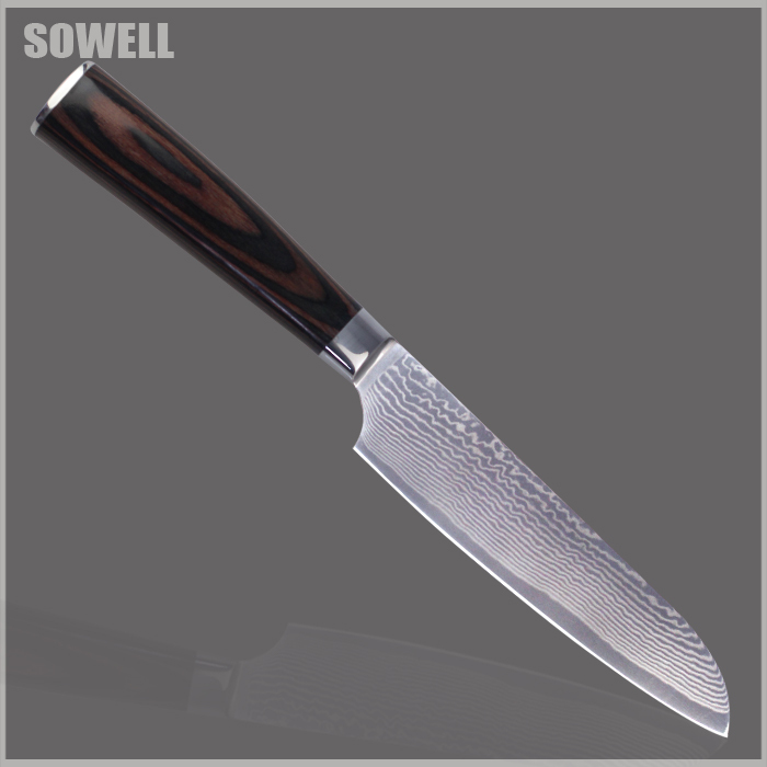 damascus steel kitchen knives aliexpress buy xyj brand 5 inch damascus knife best 17107