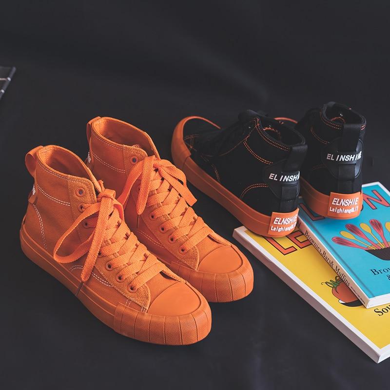 Tangoos Spring New Girls Orange Shoes