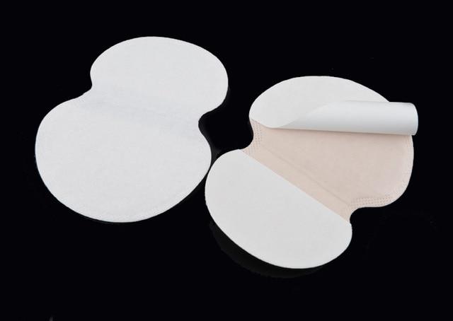 100X ( 50 Pairs ) Summer Deodorants Cotton Pads Underarm Armpit Sweat Pads Dress Disposable Stop Sweat Shield Guard Absorbing 2