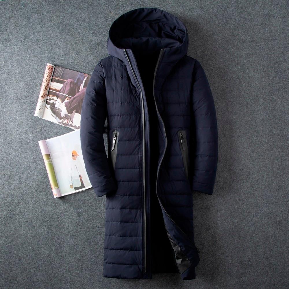 aed648e7199e X Tissu Vêtements 8009 D hiver Vestes Black Veste Hiver 8009 Blue 8009  Épaississement Duvet Parka Canard Marque Gray Blanc Hommes ...
