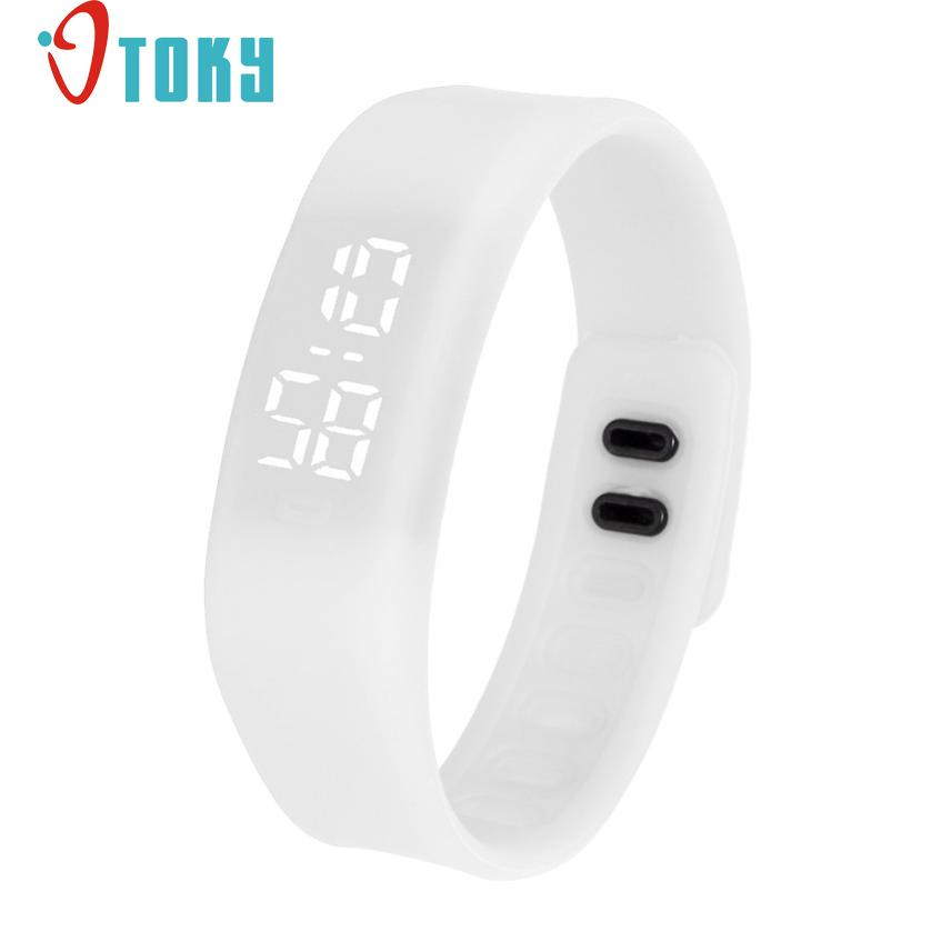 Hot Hothot Sales Fashion LED Sports Running neutral Watch Date Rubber Bracelet Digital Wrist Watchch Free Shipping at2 hot hothot sales colorful boys girls students time electronic digital wrist sport watch free shipping at2 dropshipping li