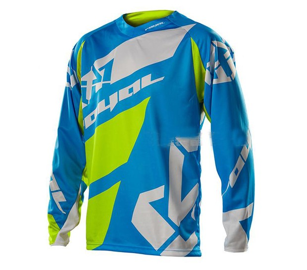 2018 motorcycle off-road long-sleeved T-shirt mountain bike quick-drying The Mountain Clothing Long jerseys Motorcycle Riding je