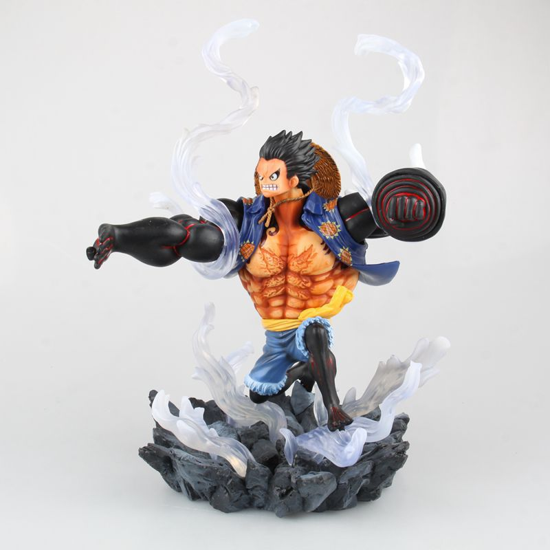 One Piece Action Figure SC Monkey D Luffy Gear 4 18CM Figure Anime PVC Onepiece Collection Model Toy B733