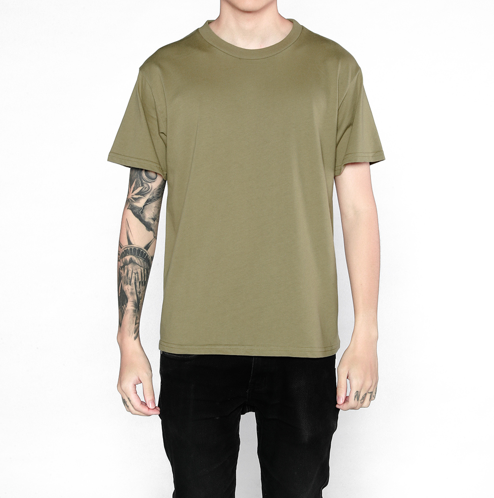 2017 high quality short sleeve T-shirt men fashion street wear new basic plain t-shirt Casual T Shirt plus 5color size male tees