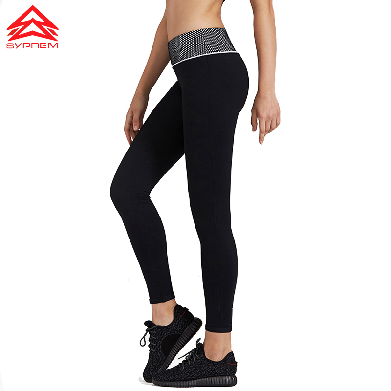 SYPREM sportswear Yoga pilates pants legging Sports women athletic  2018 New fitness trousers sexy Elastic breathable,1FP1155