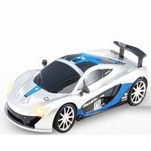 Высокая скорость гоночный автомобиль 1:43 Масштаб Мини Rc автомобиль со светодиодным Радио пульт дистанционного управления Модель автомобиля игрушки для детей мальчиков подарок