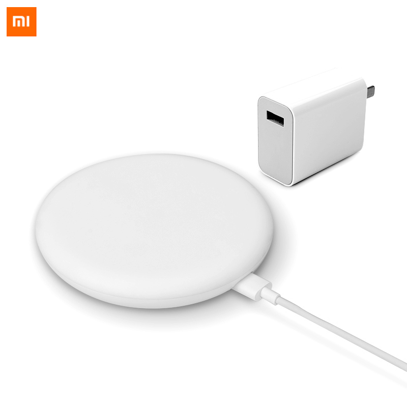 Original Xiaomi Wireless Charger 20W Max For Mi 9 (20W) MIX 2S / 3 (10W) Qi EPP Compatible Cellphone (5W) Safe Turbo Charging