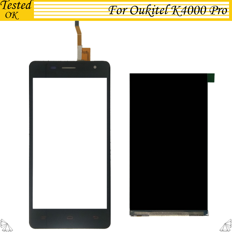 For Oukitel K4000 Pro LCD Display+Touch Screen 100% Tested LCD+Digitizer Glass Panel Replacement For Oukitel K 4000 Pro LCD