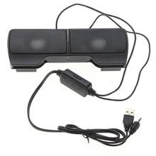 PLEXTONE 1 пара мини портативный Clipon USB стерео колонки линейный контроллер Саундбар для ноутбука Mp3 телефона музыкальный плеер ПК с зажимом