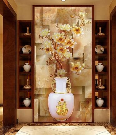 Custom furniture stickers paint film to the glass <font><b>sliding</b></font> door <font><b>wardrobe</b></font> bathroom opaque film vestibule Continental vase