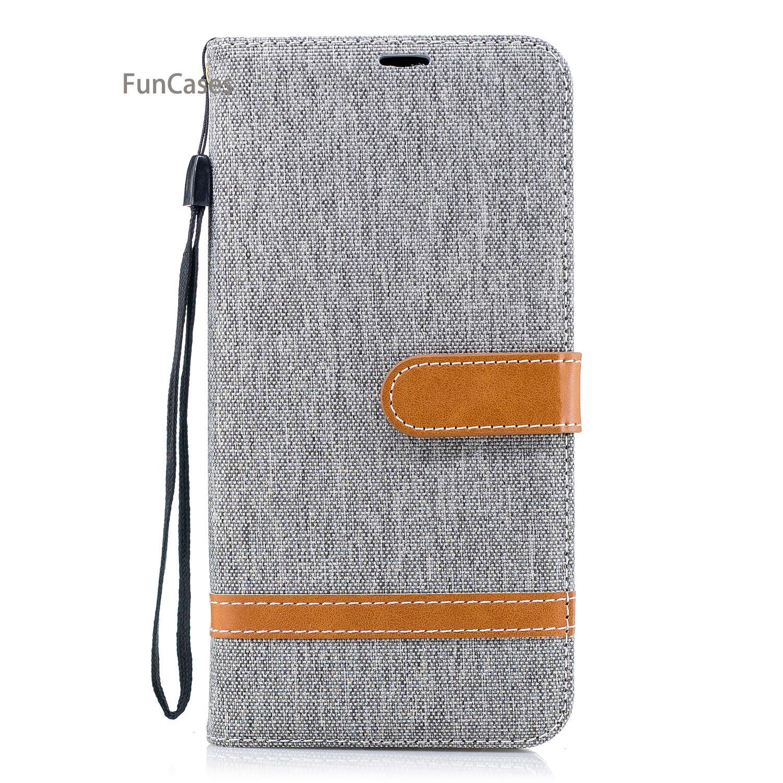 Hit warna Telepon Flip Kasus Capa sFor Samsung A8 Ditambah 2018 slot kartu Kasus Capa Flamingo