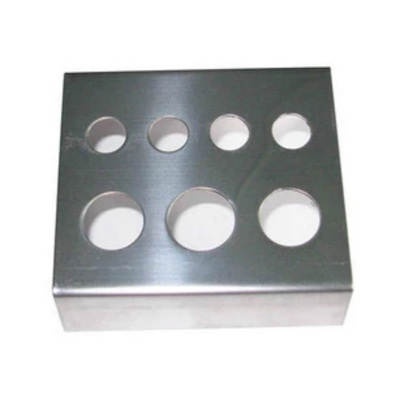 7 Holes Container Stand Tattoo Pigment Accessories Stainless Steel Supplies Tattoo Glass Cup Holder For Permanent Makeup Use
