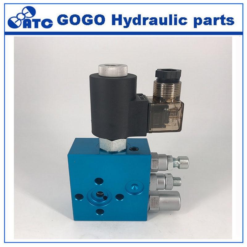Hydraulische verbund heben ventile, hydraulische hebe valve, EF 02, Hebe plattform-in Ventil aus Heimwerkerbedarf bei AliExpress - 11.11_Doppel-11Tag der Singles 1