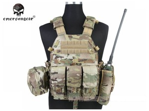Image 5 - Emersongear LBT 6094 Tactical Vest Body Armor With 3 Pouches Hunting Airsoft Military Combat Gear EM7440 AOR Khaki Mandrake