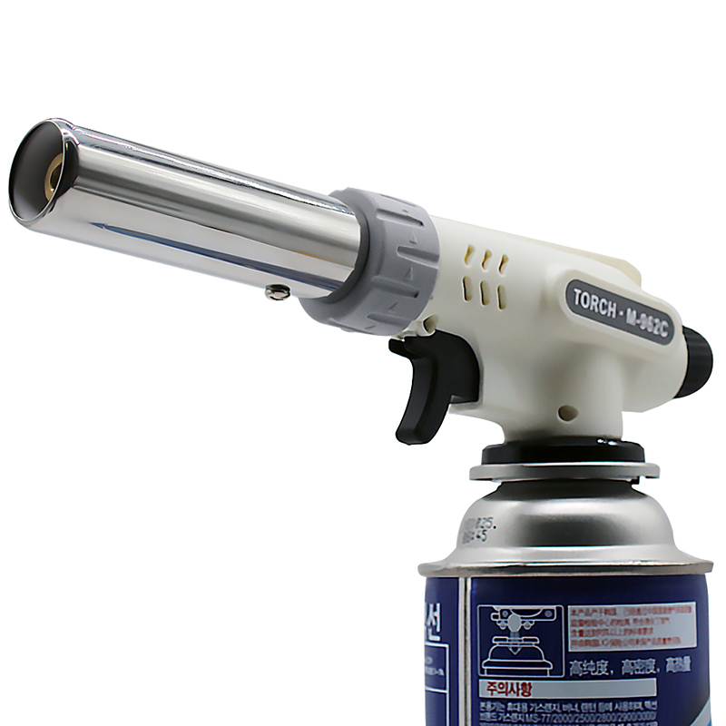 Gas Torch Flame Gun Cooking Soldering Butane Automatic Electronic Gas Welding burner Lighter Gas Welding Torch Gas Burner Flame