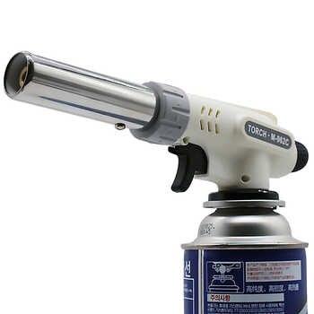 Mechero de soldadura de Gas, encendedor de Gas electrónico automático, butano, encendedor de soldadura de Gas, encendedor de Gas
