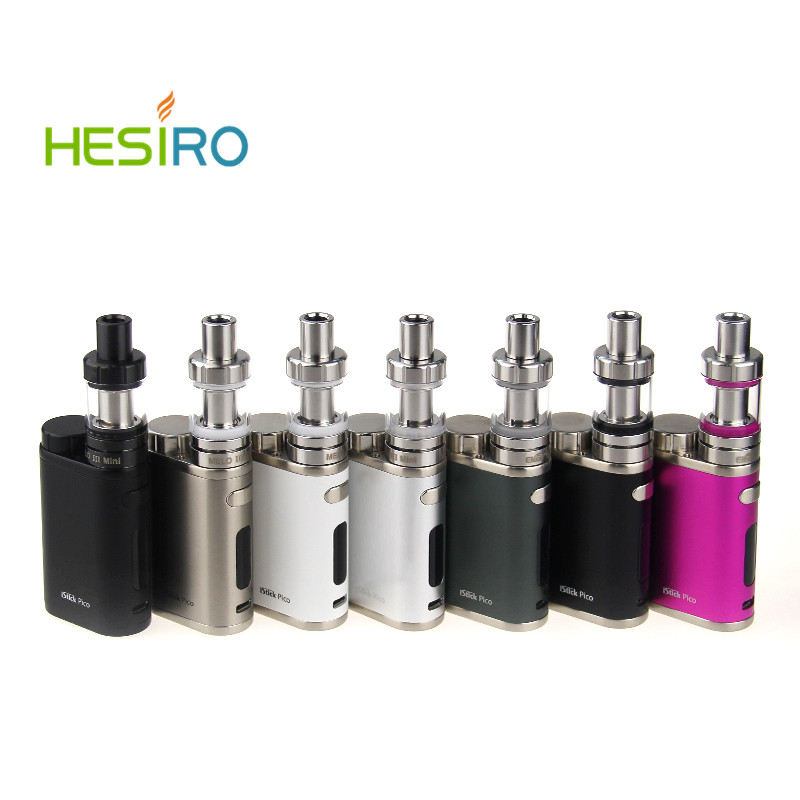 Eleaf iStick Pico Start Kit with 75W iStick Pico TC Box Mod Vape Vaporizer & MELO III 3 Mini Tank 18650 Electronic Cigarette