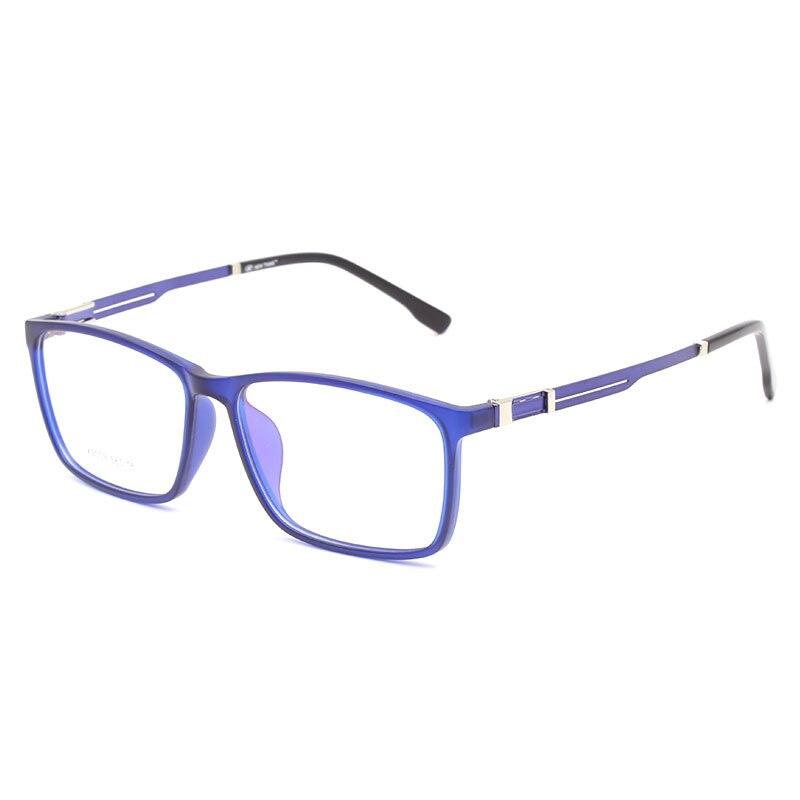 TR90 Rectangular Eyewear Frame Fashion Full Rim Optical Myopia Prescription Clear Computer Eyeglasses Frame X2003 Spectacles