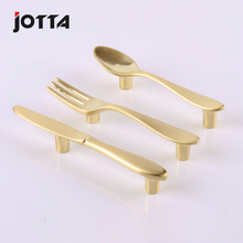 Item modern tableware knife fork spoon creative furniture handle \ high-quality goods drawer cabinet handle  kitchen handle 76mm fixmee fixmee new creative spoon knife fork kitchen cabinet closet drawer handle pulls 76mm