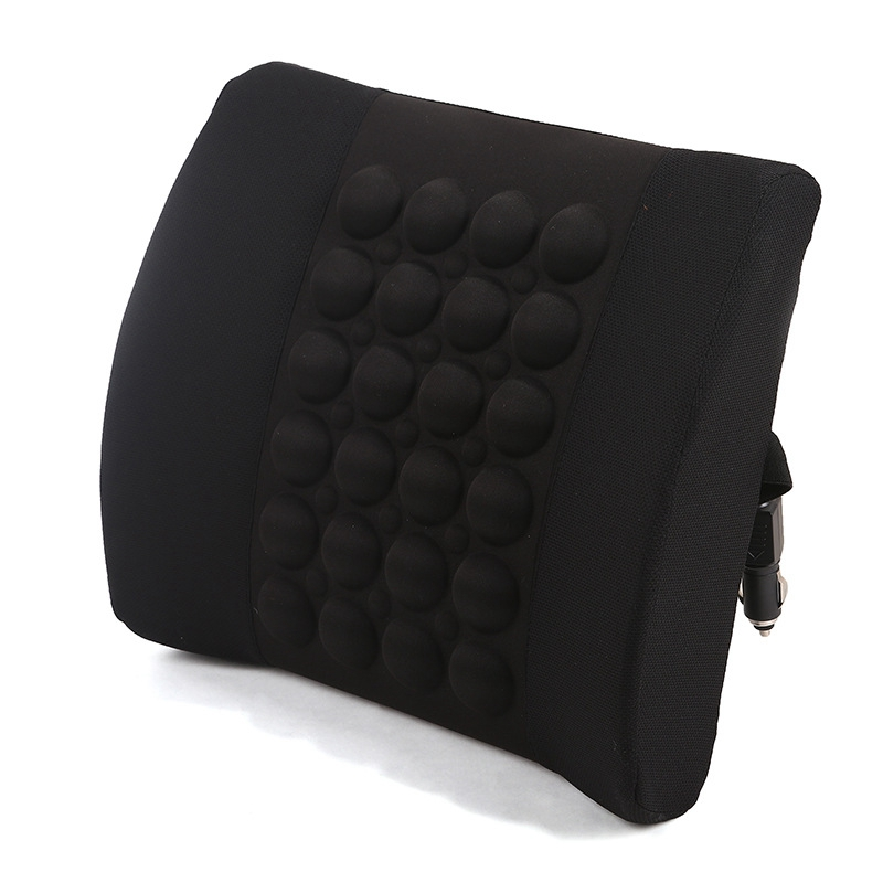 Universal Electric Massage Car Backrest Waist Support Lumbar Support Pillow Waist Safety Chair Cushion High Quality