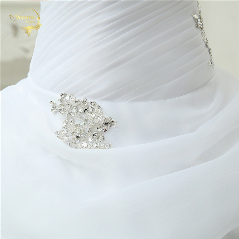 A-line Sweetheart Beading Wedding Gown
