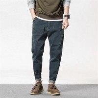 2017 Spring Autumn Fashion Jeans Men Plus Size S 4XL Water Washed Blue Jeans Hip Hop