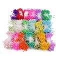 1 Bundle = (500PCS) künstliche Blume Doppel Köpfe Staubblatt Pearlized Handwerk Karten Kuchen Decor Floral für home hochzeit party decor