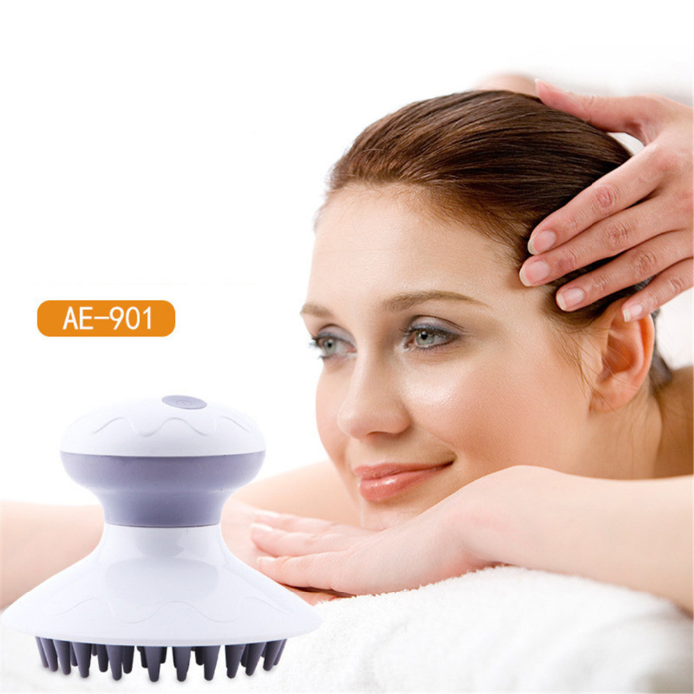 Head Massager Electric head scalp Massager pressure points to relieve stress Promote blood circulation hair growth blood circulation promote head scalp neck stress relax massager я╝иrandom color