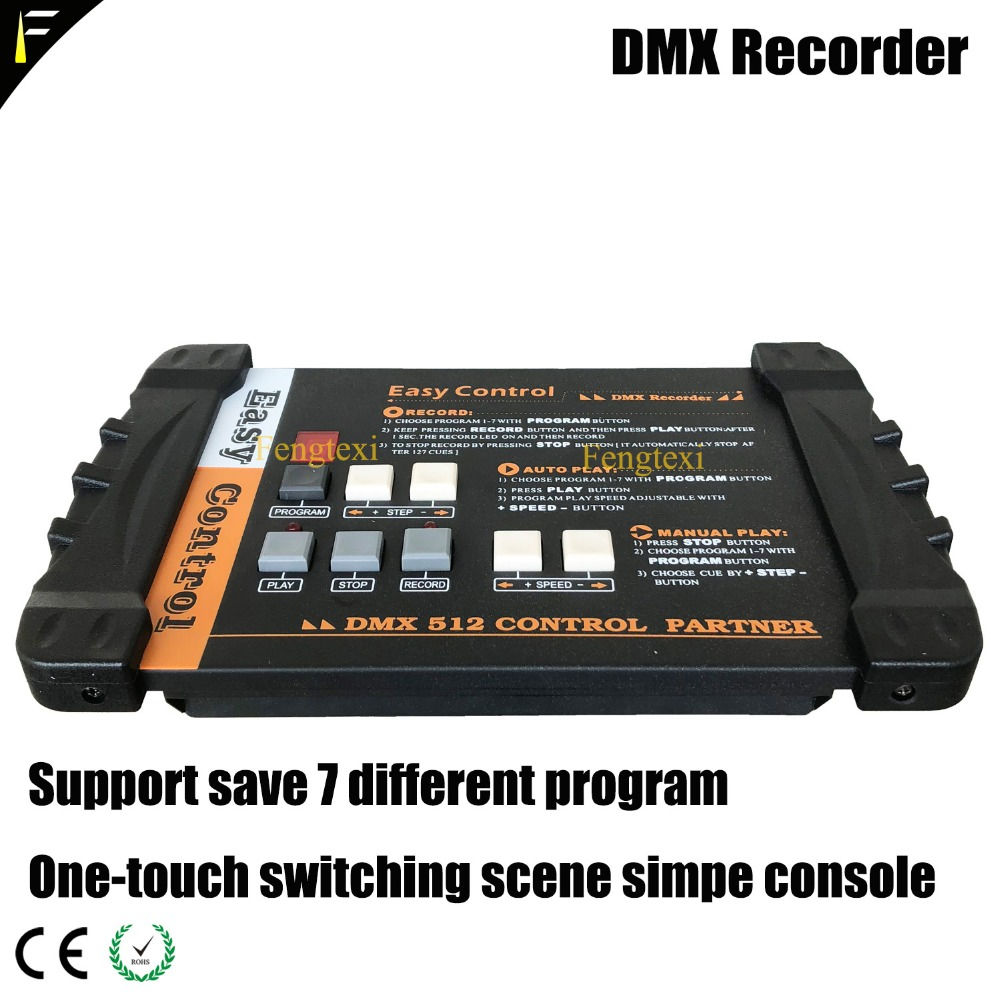Мобильный концерт свет этапа консоли легко простой контроллер DMX 512 Регистраторы Поддержка сохранить 7 программы 4 МБ Авто/один сенсорный вы