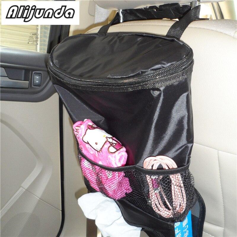1 Stks Auto Care Autostoel Organisator Koeltas Multi Pocket Regeling Bag Achterbank Stoel Auto Styling Seat Cover Organiser