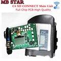 2016 Высокое Качество Полный Чип МБ ЗВЕЗДА C4 SD CONNECT Диагностики инструмент с WI-FI SD С4 Основной Блок XENTRY Звезда C4 DHL бесплатно