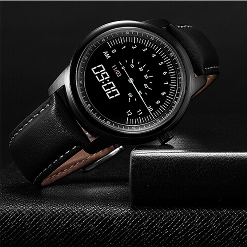 2016 Newest font b Smartwatch b font DM365 Smart Watch Full HD IPS Screen Bluetooth Fitness