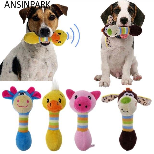 ANSINPARK cute pet giocattoli di masticazione del cane per animali da compagnia