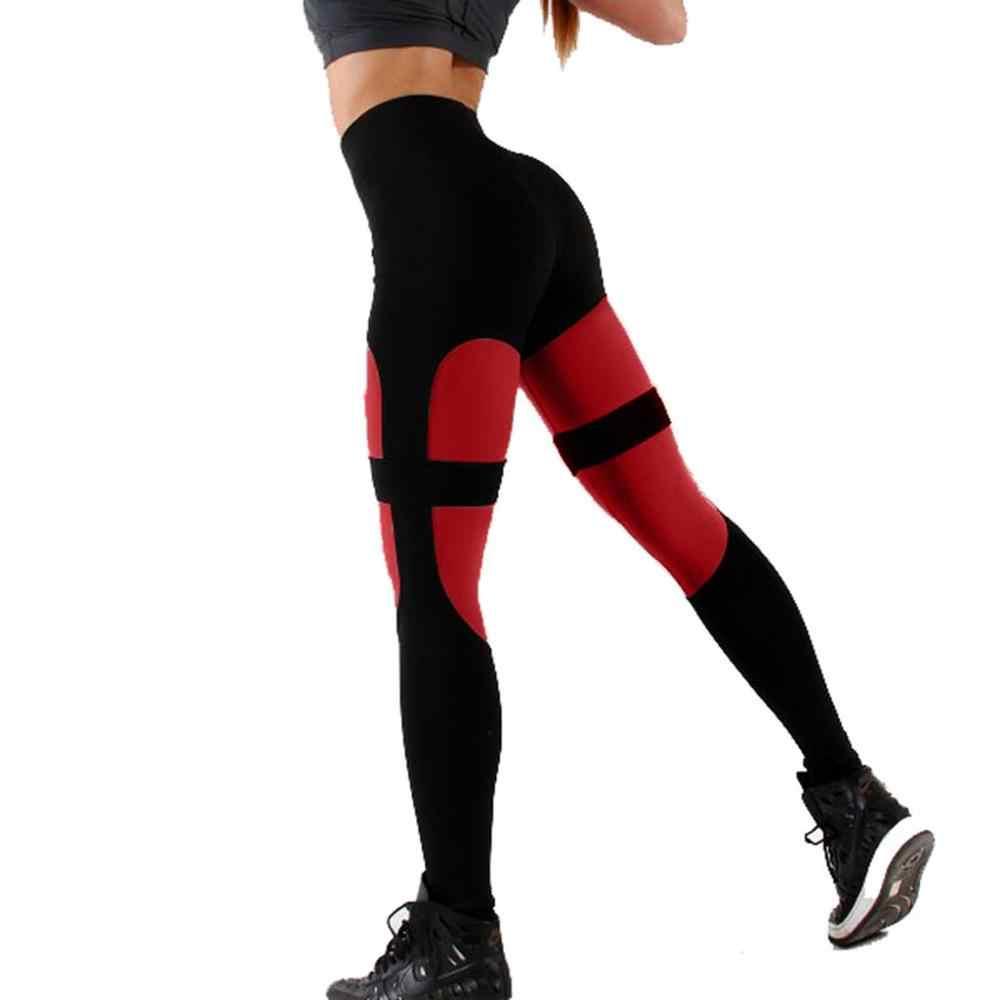 С высокой талией для йоги брюки 10 цветов женские фитнес спортивные Леггинсы с принтом эластичные тренировочные трико s-xl брюки для бега плюс размер