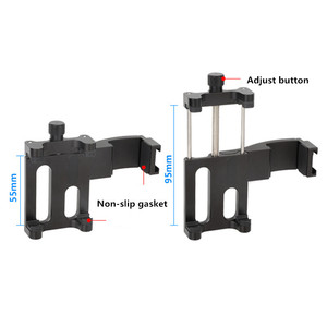 Image 2 - for Osmo Pocket Monitor Microphone Multi function Fixed Holder Mobile Phone Mount Bracket Gimbal Camera Expansion Accessories