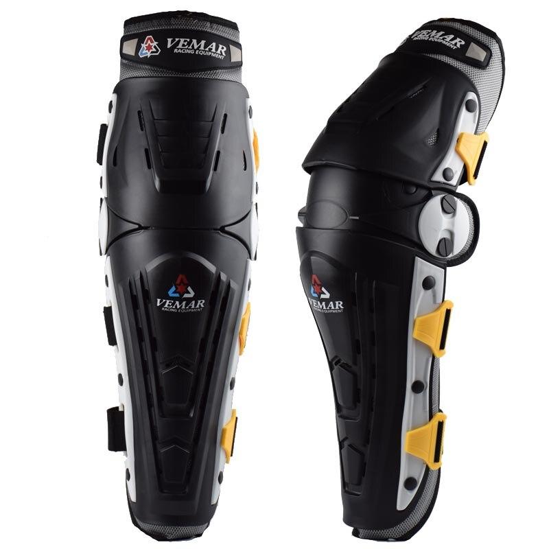 2018 Vemar Motorcycle Knee Protection Motocross Protector Pads Guards Motosiklet Dizlik Moto Joelheira Protective Gear Kneepads