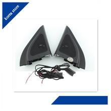 Для hyundai ix25 CRETA колонки твитер автомобильный-Стайлинг звуковая труба головка динамик ABS Материал треугольник динамики твитер