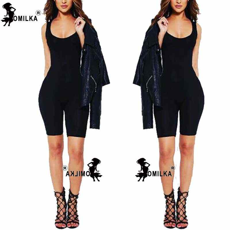 f5eaa799a566 ... Hot Basic Women Bodysuits Cotton Women Rompers One Pieces Bodycon  Jumpsuits Overalls Skinny Jumpsuit ...