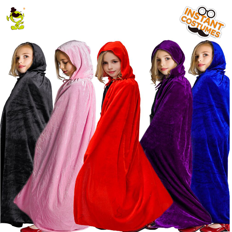 Girls Wizard Cape Costume Fancy Dress New Design all kinds of Kids Princess Wizard Cape Dress for Halloween Carnival &Christmas