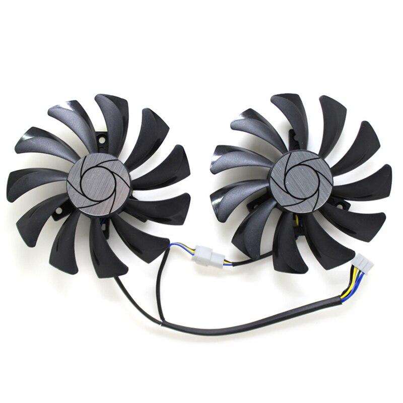 New Original HA9010H12F-Z Graphics Card Cooling Fan For MSI GeForce GTX 1050 Hurricane GTX 1060 Hurricane 6G GDDR