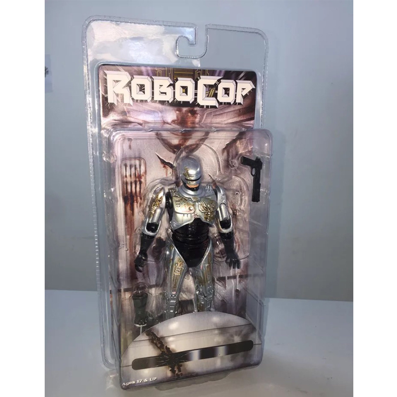 NECA 7 RoboCop Murphy PVC Action Figure Collectible Model Toy Doll free shipping neca official 1979 movie classic original alien pvc action figure collectible toy doll 7 18cm mvfg035