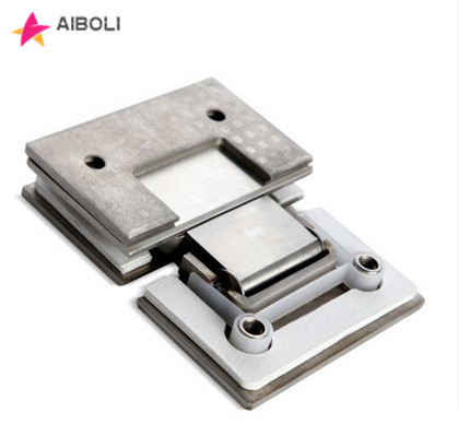 AIBOLI 2PCS 180 Degree 304 Stainless Steel Wall Mount Glass Shower Door Hinge For Home Bathroom  stainless steel hingeAIBOLI 2PCS 180 Degree 304 Stainless Steel Wall Mount Glass Shower Door Hinge For Home Bathroom  stainless steel hinge