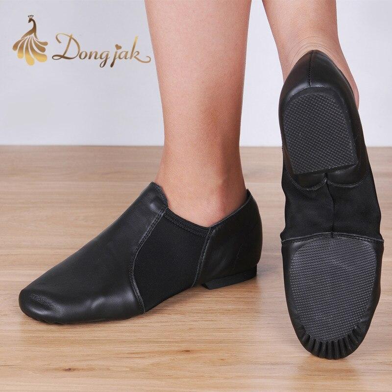 Dongjak Ægte Læder Stretch Jazz Latin Dance Sko Salsa For Women - Kondisko - Foto 2
