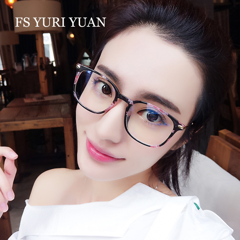 FS YURI YUAN New Computer Goggles Anti Fatigue Radiation-resistant Reading Glasses Frame Anti Blue Rays Computer Gaming Glasses
