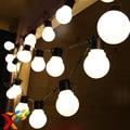Luminaria 10 m LED de cuerda luces de la Bola Cortina Tamaño Grande guirnalda de luz para el banquete de boda de hadas de año nuevo de Vacaciones de Navidad Al Aire Libre iluminación