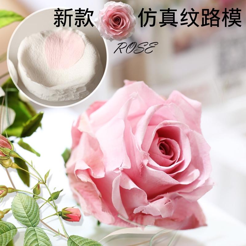 Rose petals veiner Sugar tool Meridians flower silicone cake mold simulation gum paste mould
